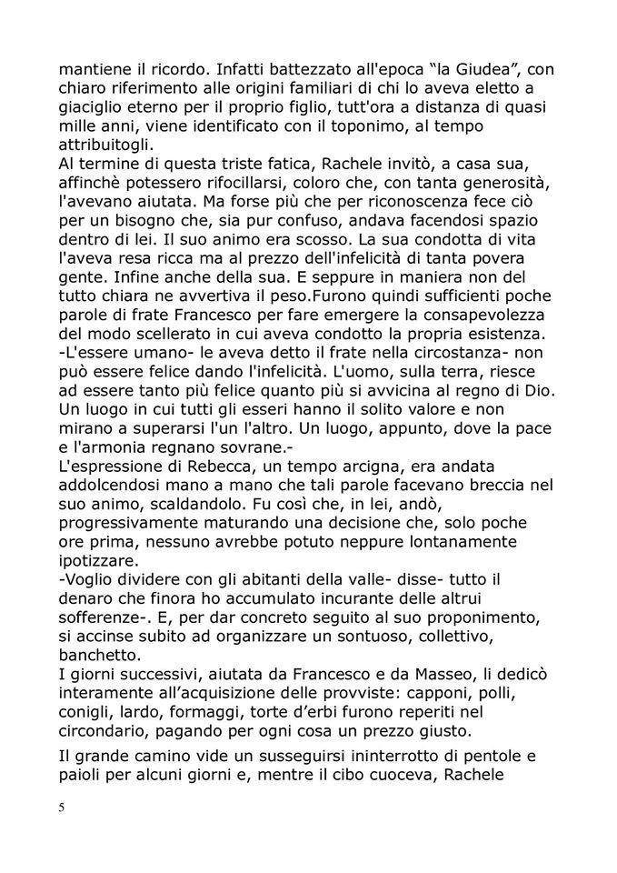 San Francesco sulla via francigena,la storia: pag. 5