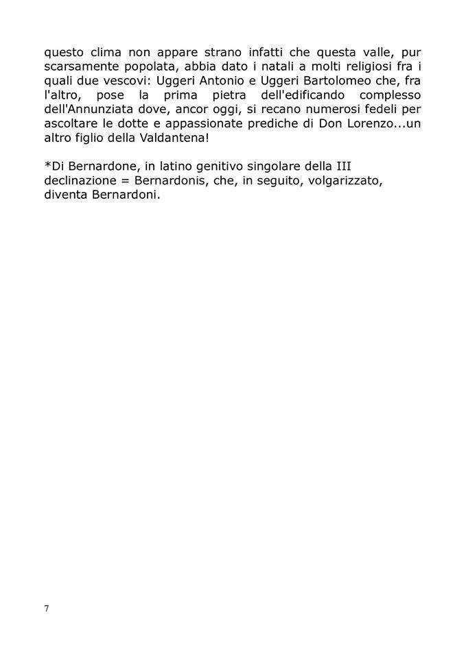 San Francesco sulla via francigena,la storia: pag. 7