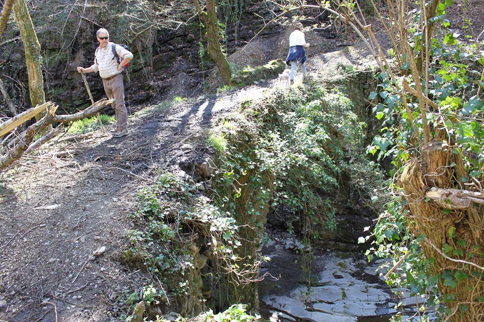Via Francigena: Il ponte della spergiura