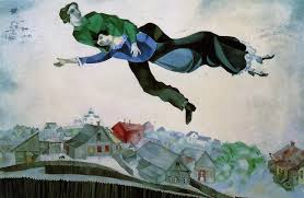 Chagall: over the town