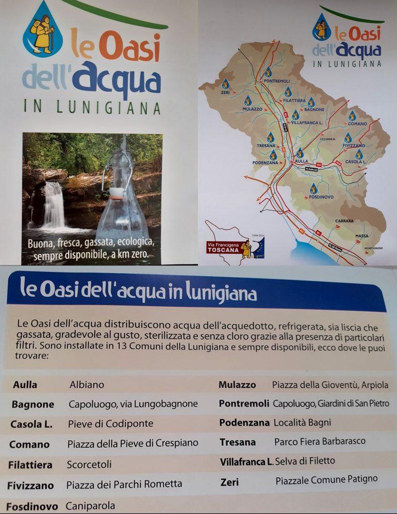 Le Oasi dell'acqua in Lunigiana
