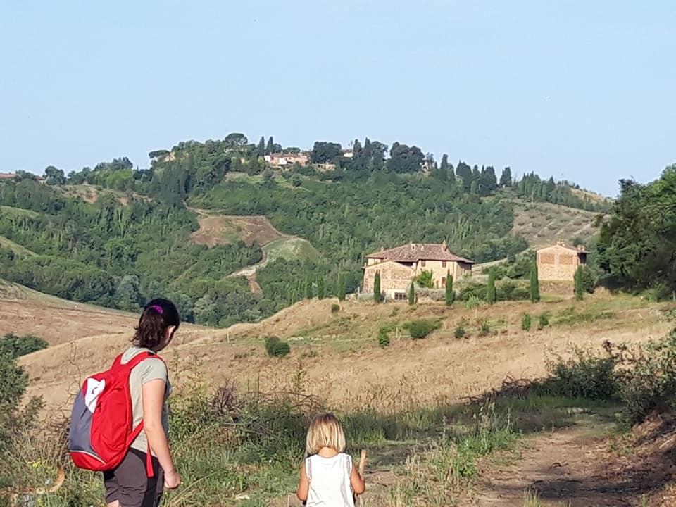 La ottava tappa della Via Francigena Toscana