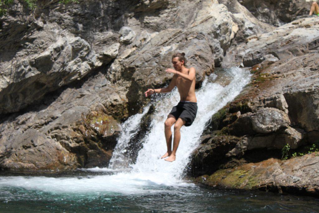 Il Laghetto del palino: piscina naturale in prossimità del B&B Eremo Gioioso