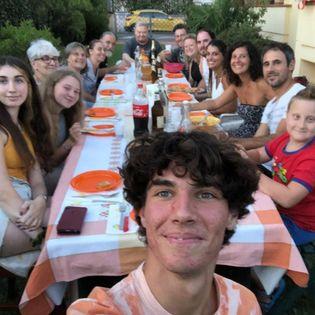 Geremia e il pranzo di famiglia