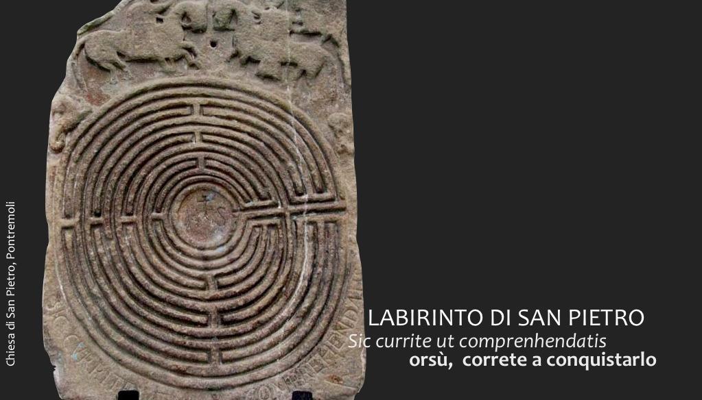 Il labirinto in pietra nella chiesa di S.Pietro a Pontremoli