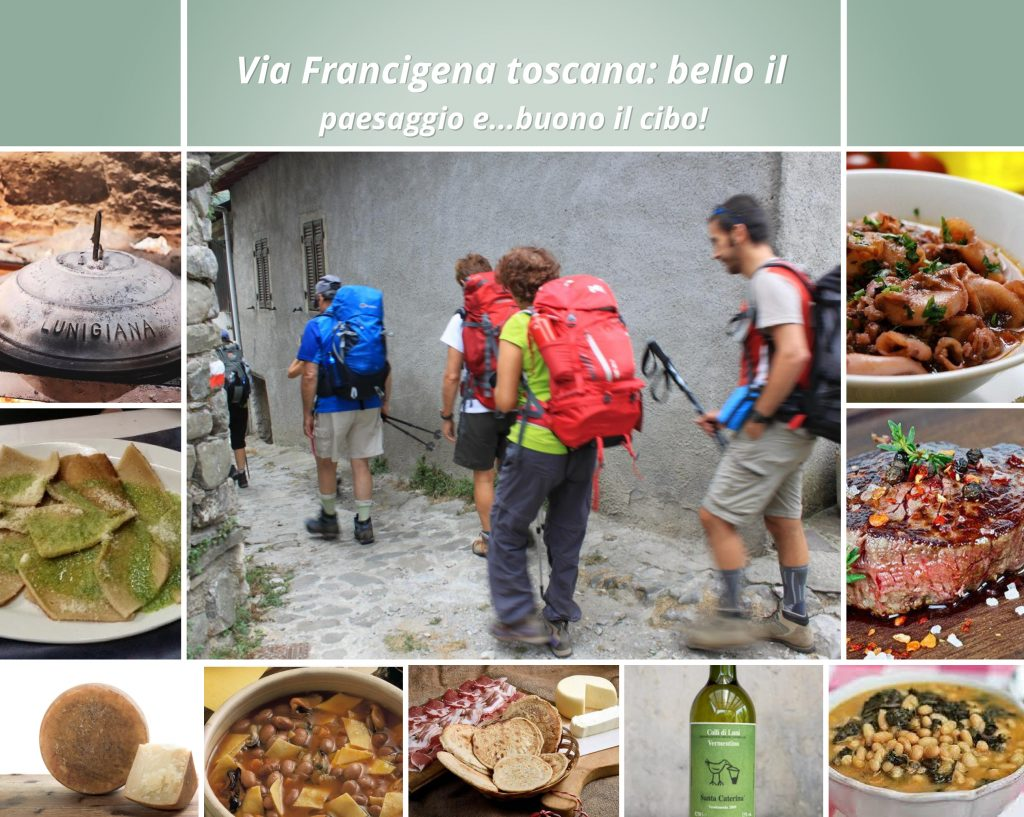 Francigena Toscana: bello il paesaggio e buono il cibo!