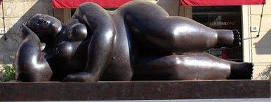 Scultura di Botero a Pietrasanta