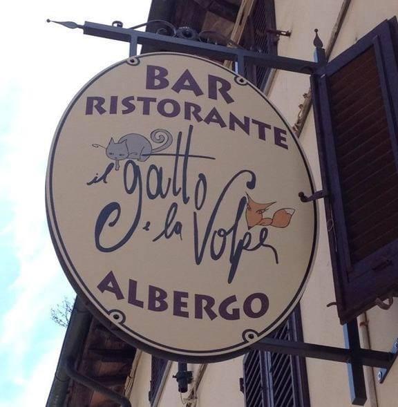 Il Gatto e la Volpe ristorante a Gambassi Terme