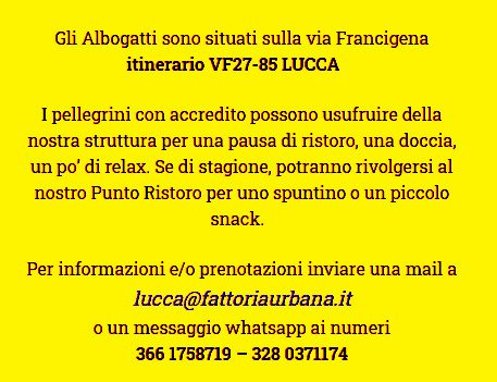 Gli Albogatti: snack a Lucca