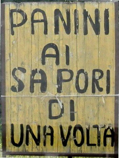 Via francigena toscana: panini sul percorso, a Gallina
