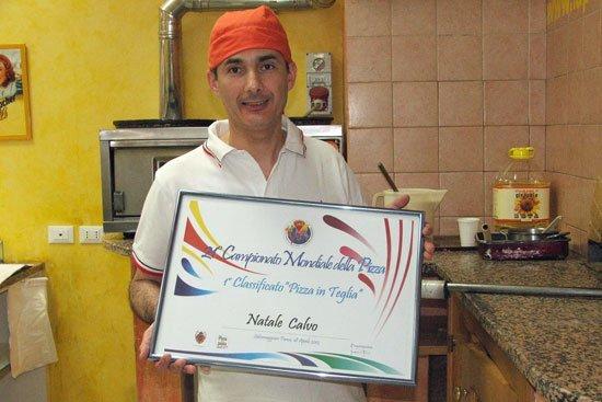 Pizzeria Natale Calvo ad Aulla lungo la Via Francigena Toscana